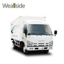 Hot sale commercial vehicle ISUZU single cabin 100p light cargo truck