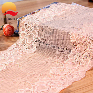Best sale design elastic lingerie lace trimming for decoration 20cm E2645