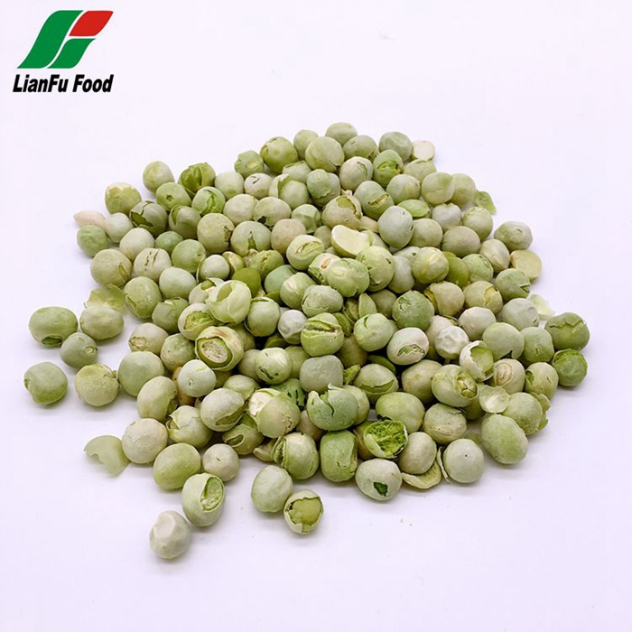 High Purity Natural Bulk dried frozen pea for fast food