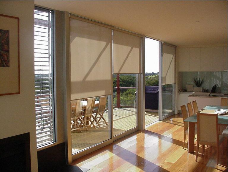 Рулонные солнцезащитные шторы горизонтальные cortinas persianas