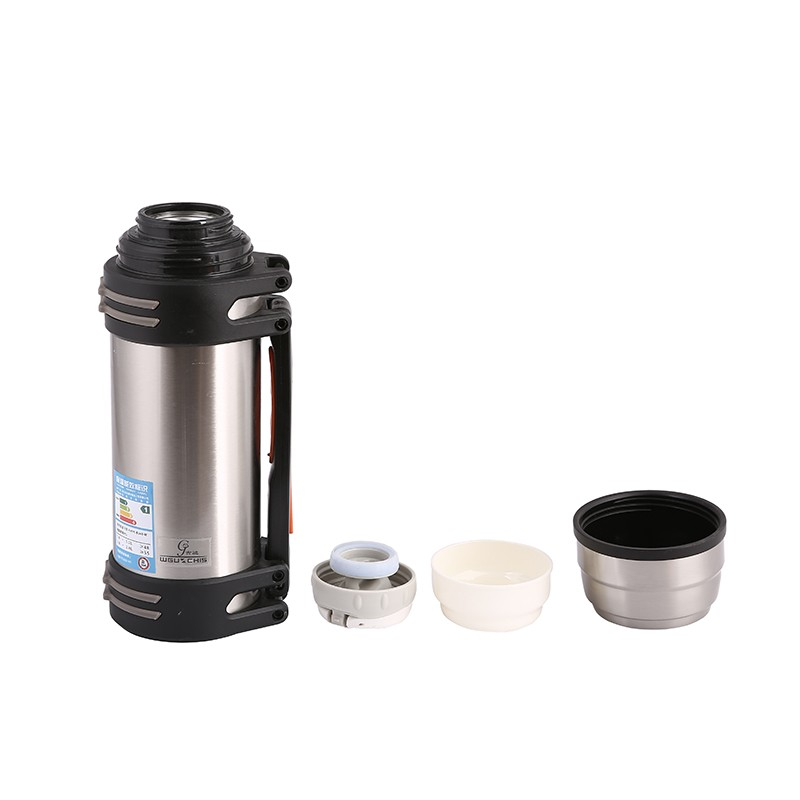 Stainless Steel Botol Air 2.5 Liter, kualitas Unggul Lensa Kamera Bentuk Cangkir Kopi Teh Perjalanan Mug Stainless Steel Vacuum Fla