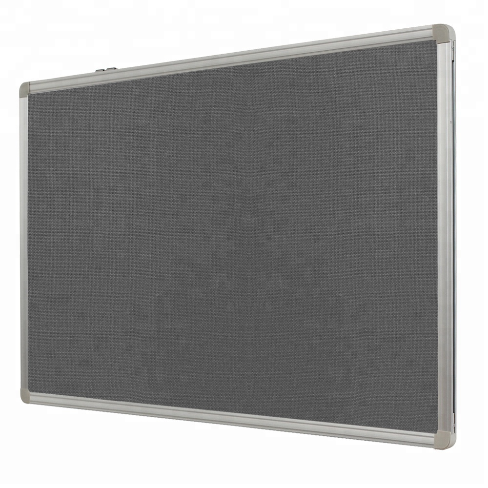 office school decorations reminder message memo board fabric pin board