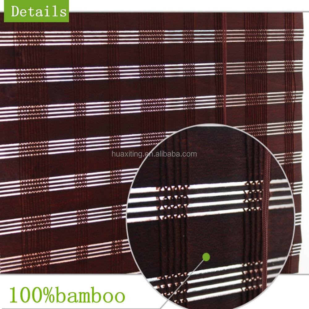 Bamboe roll up gordijn ontwerp jaloezieën/prachtige woonkamer ...