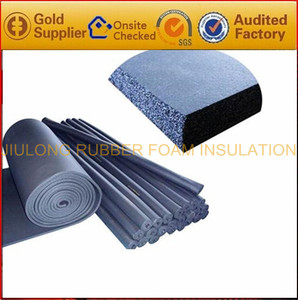 Black waterproof adhesive backed EPDM foam Rubber Foam Sponge