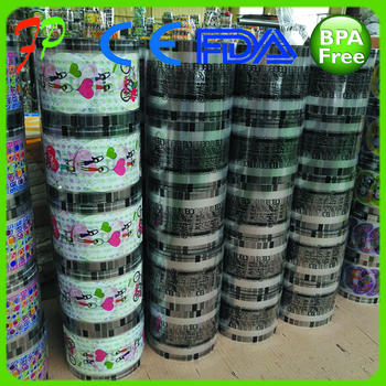 Laminated Material Plastic Bubble Tea Cup Lid Sealing Film