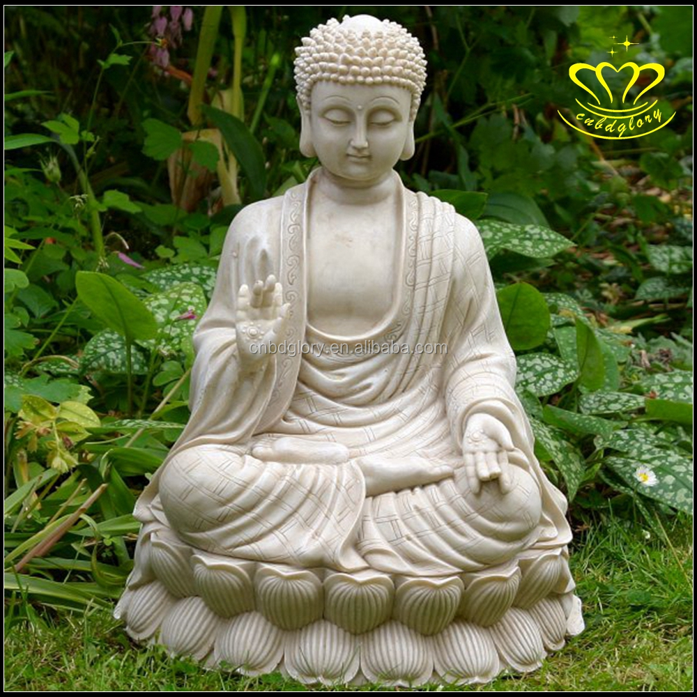 Fiberglass Resin Large Meditating Buddha For Garden Ornament Sale