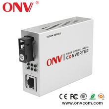 Video untuk Optik Media Converter untuk ip kamera Digital (2 port Video maju + 1 port rs232 Data) 20 km, melalui Serat Tunggal Transceiver