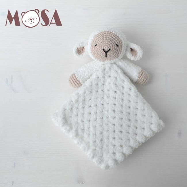 Mano De Ganchillo Recién Nacido Bebé Regalo Bebé Sueño Ovejas Lovey ...