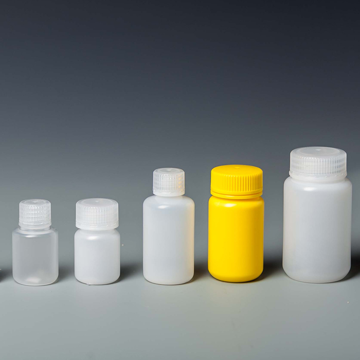 Wide mouth plastic reagent bottle 3ml-120ml PP/HDPE