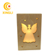 wooden light up angel shaped box Christmas shadow light box