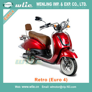 2018 New znen hot sell motorcycle gas scooter 50cc fosti vespa revival electric Retro 50cc/125cc (Euro 4)