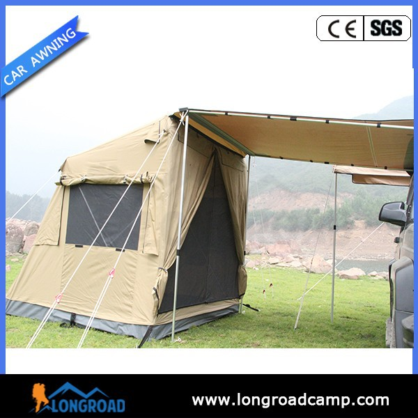 Portable Awning For Camper : Awing roof top tent camper trailer wd camping car