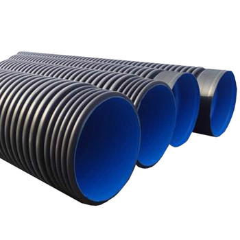 HDPE Material PE100 8 inch Double Wall Corrugated culvert pipe for drainage