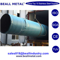 Industry Large Diameter ERW EFW 304 304L 321 316L 309S 310S Stainless Steel Welded Tubes Pipes