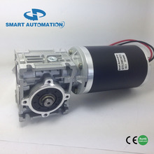 12v 24v 40nm dc motor with worm gear reductor