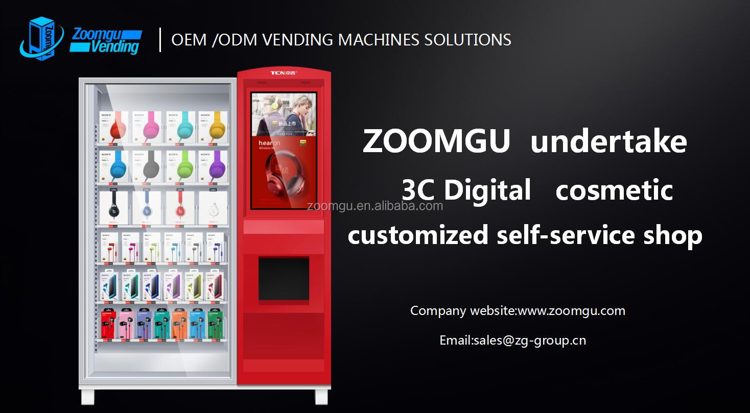 elevator vending machine for healthy salad boxes