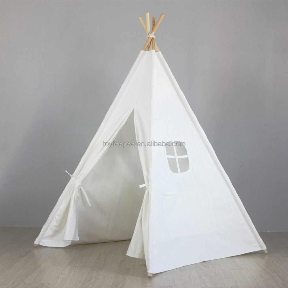 Bianco Teepee Play House per Baby Room