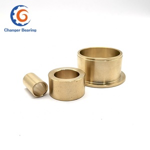 Custom Copper Bearing Bushing Sleeve 8mm ID Bronze Bushing for Automotive Electric Motor