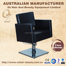 Black Hair Salon Cutting Chairs