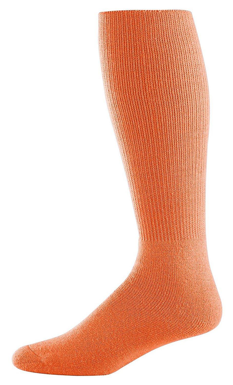 Athletic Socks - Youth Size 7-9, Color: Orange, Size: 7 - 9
