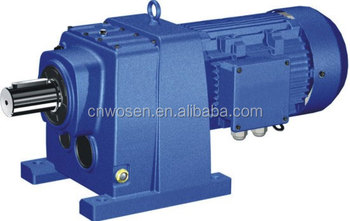 R Series Helical Electric Motor Gearbox Buy Electric