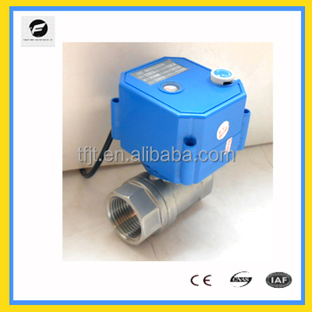 TF high-quality mini solenoid actuated valve 2 way CWX-25S for HVAC,drinking water(CE and ISO approved)