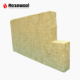 External wall heat and sound insulation rock wool board
