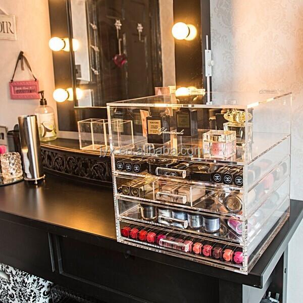 Luxurious Silkscreen Logo Plexiglass Makeup Organizer - Buy Plexiglass Makeup  Organizer,Silkscreen Logo Plexiglass Makeup Organizer,Lucite Makeup  Organizer ...