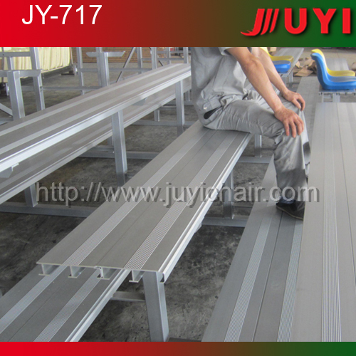 Jy-717 Aluminum Outdoor Bleacher Seating Gym Seating System Sports ...