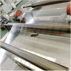 factory 50% recycled 0.3mm Transparent Plastic PET Roll Film for Thermoforming for sales