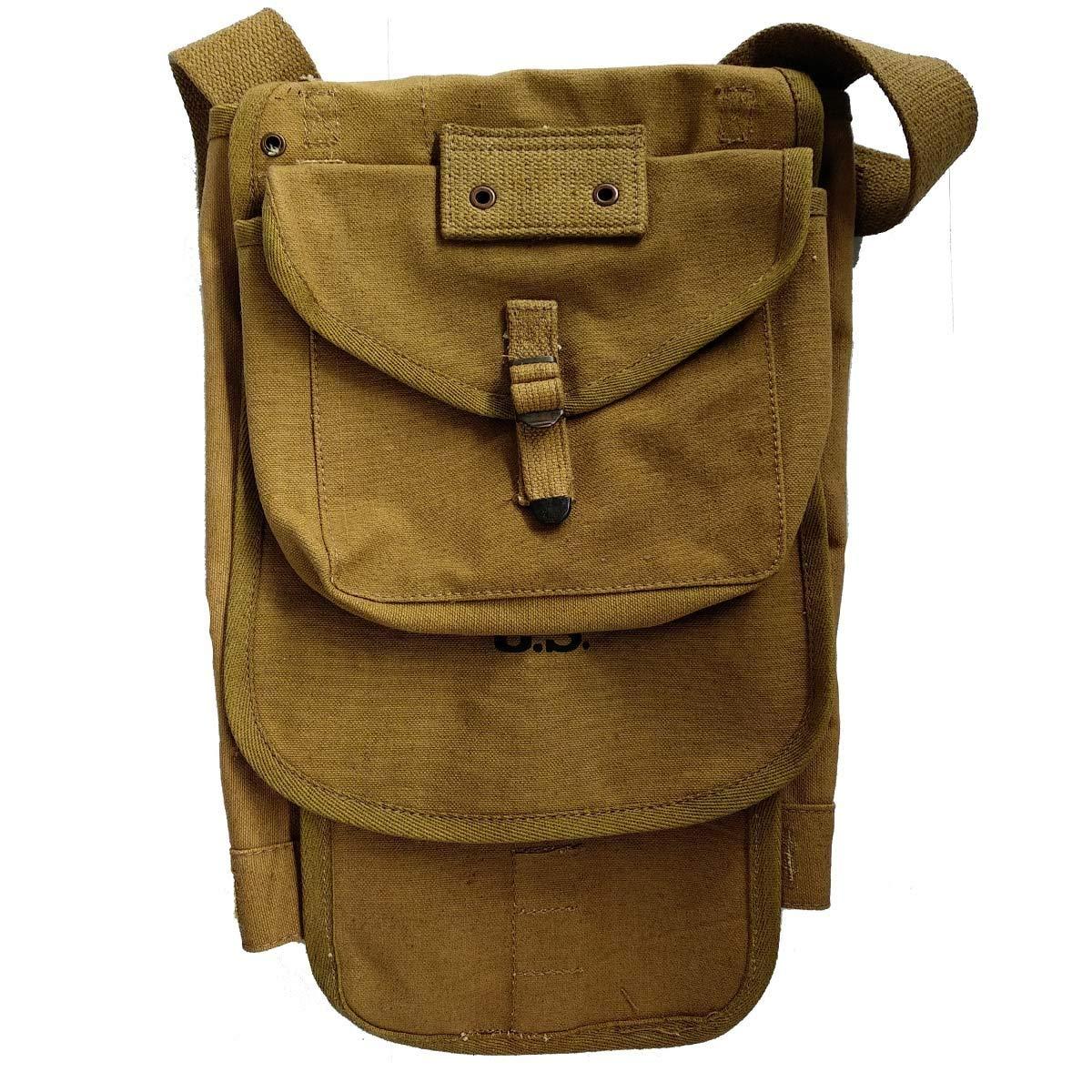 ce6f09f9b9fa Buy Wwii Backpack World War 2 Vintage Style Heavy Duty Canvas-black ...