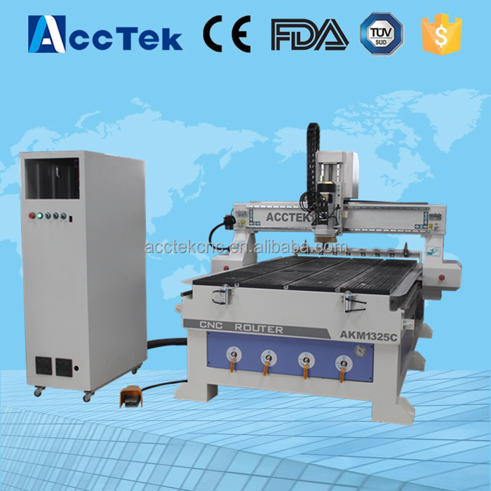 Small wood engraving machine / HSD air spindle for cnc router milling machine