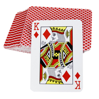 Cheap Both Side Printed Sublimation Playing Cards Japanese Comic Card Paper Poker