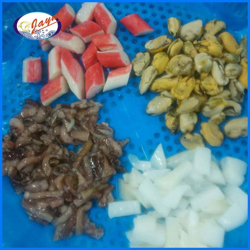 Hot sell mix seafoods with many kind of seafoods