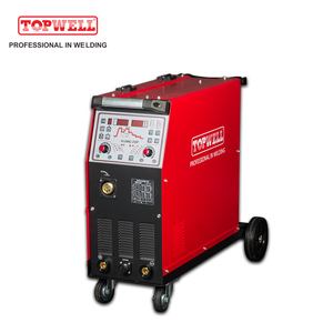 TOPWELL single phase 250 amp double twin pulse mig welder for sale