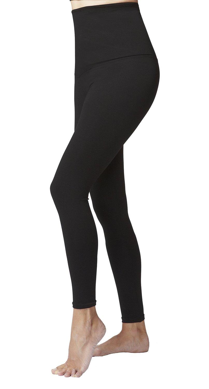 b44906acd99491 Get Quotations · Tummy Control Slimming Shaping High Waist Yoga Tights  Leggings Black