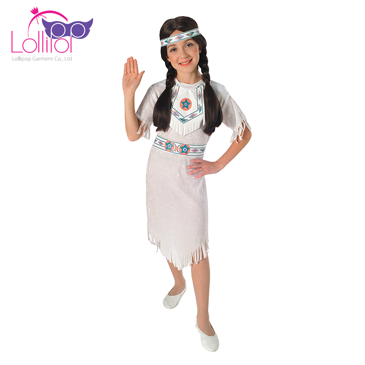 Children carnival costume cosplay clothes indian halloween costumes for girls
