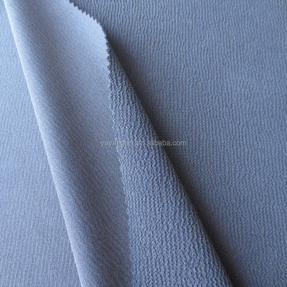 Polyester Twist Scuba Knitting Crepe Fabric Composition Lycra 95 poly 5 Spandex for Vietnam Market
