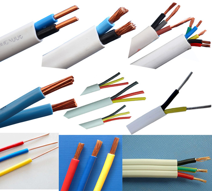 House Wiring Electric Cable/flexible Electric Cable 2x1.5mm ...