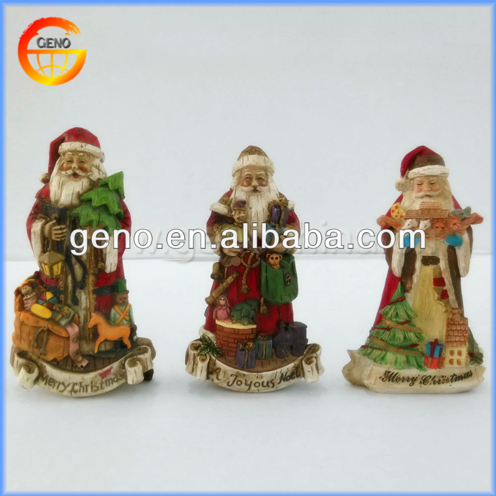 Wonderful Resin Santa Christmas Decorations