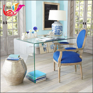 2018 Crystal Clear Acrylic Dining Tables, U-shape Lucite Tables Desk