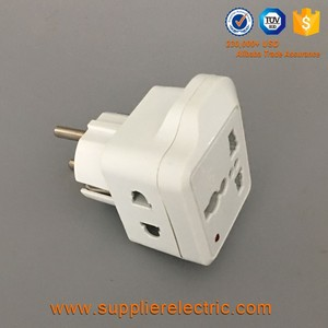 universal outlet european standard 2pin 16a 250v plug adapter plug adapter