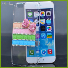 Rhinestone mobile phone cover for iphone 6 ,case for iphone 6 direct buy china