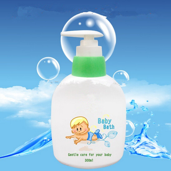 Gentle and antiseptic baby body wash