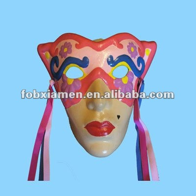 Party supply ceramic mardi gras mask
