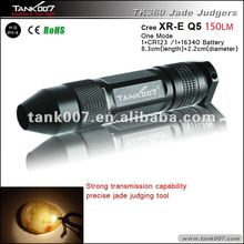 one Mode white light 160LM LED strong light flashlight as jade flashlight appreciation special quality goods TANK007 TK3560