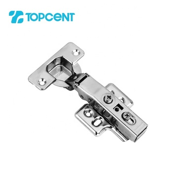 TOPCENT furniture kitchen hetal stainless steel concealed hydraulic auto soft close cabinet door furniture hinge
