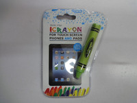 100% food grade silicone touch screen stylus pen