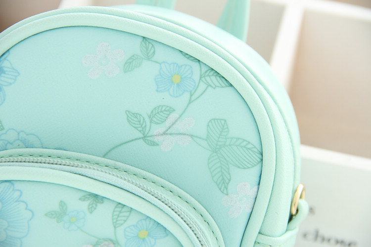 847c92c0cdcb girls beautiful mini backpack kids school bags mint colour bags for children  daily bags usage