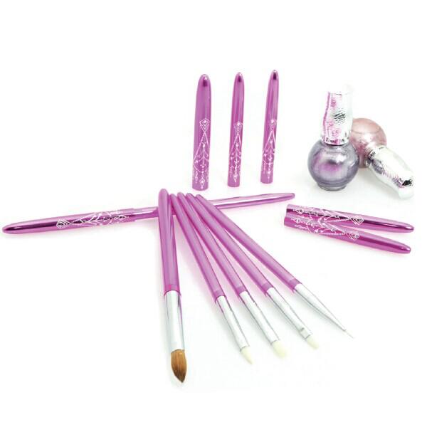 Top Quality Kolinsky Sable Nail Art Brush Pure Color - Buy Nail ...